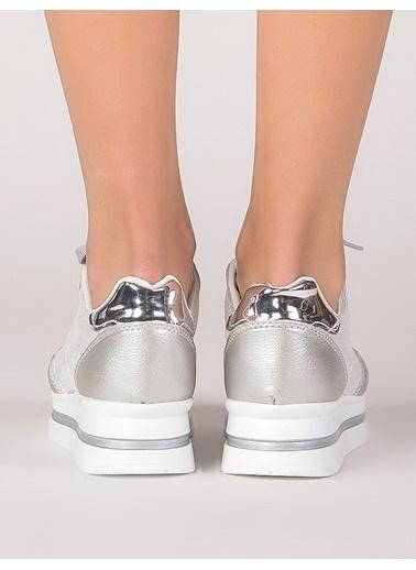 Mecrea Sneakers Gümüş